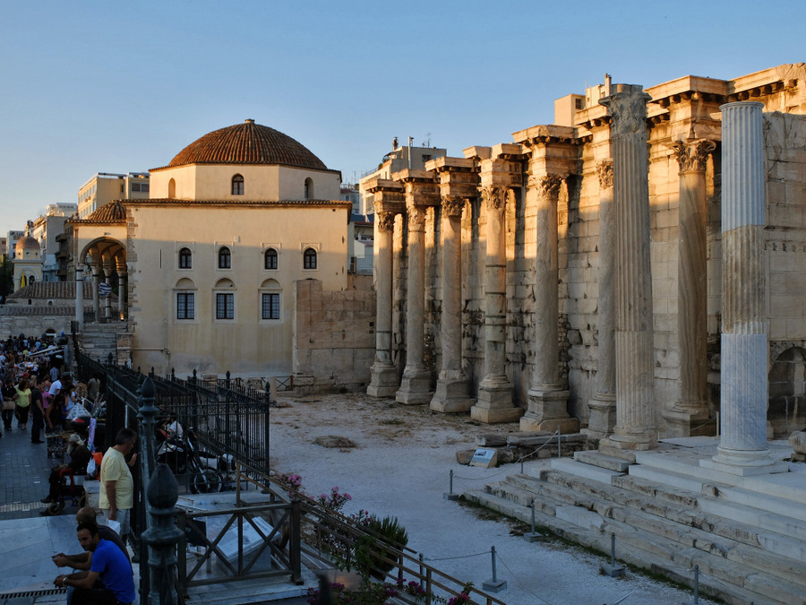 Athens; Hadrian's Library
