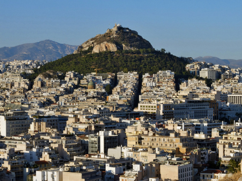 Athens; Lycabettus Hill