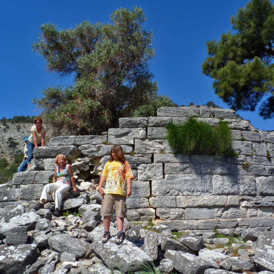 Thasos; hellenistic tower