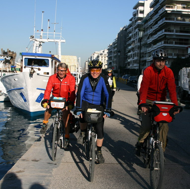 Thessaloniki; biking